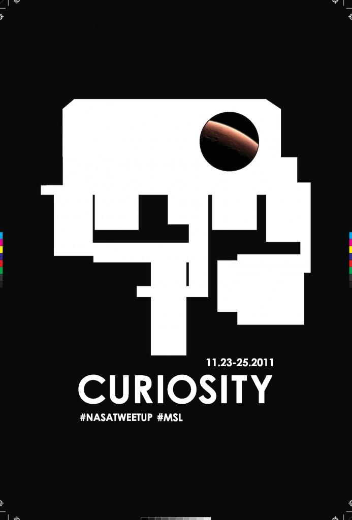 MSL Curiosity Poster